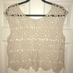 Tops - Lace Tank Top